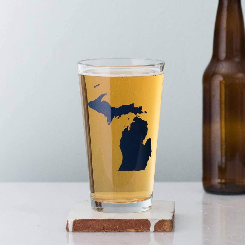Michigan Pint Glasses