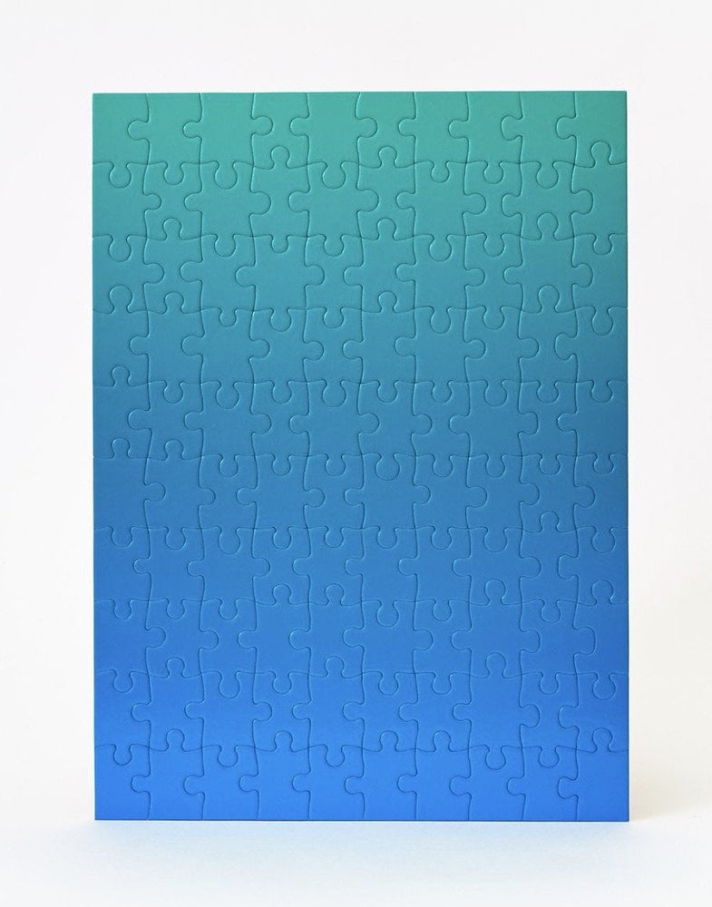 Small Gradient Puzzle Blue/Green