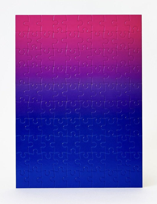 Small Gradient Puzzle Blue/Pink