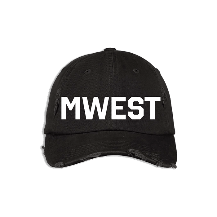 Black & White MWEST Hat