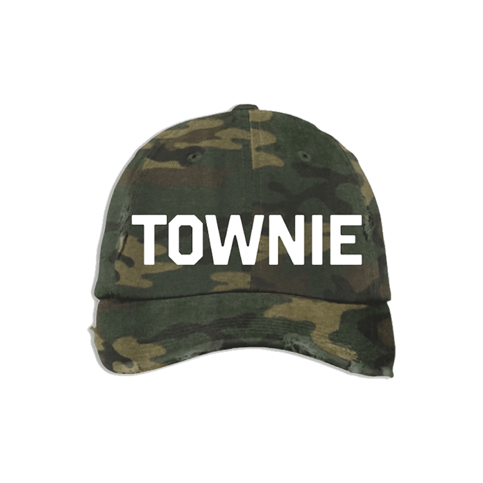 Camo & White Townie Hat