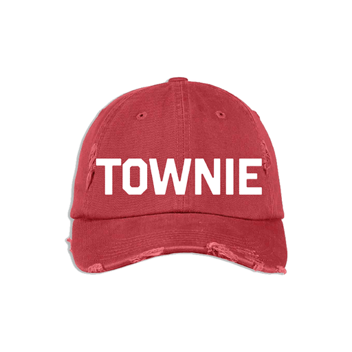 Red & White Townie Hat