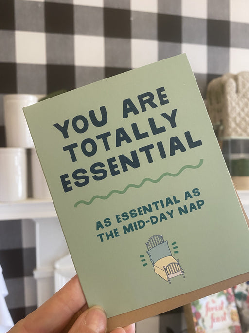 Totally Essential Card