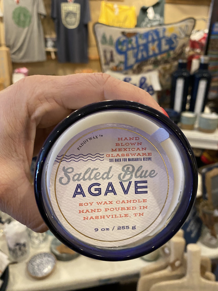 Salted Blue Agave Candle