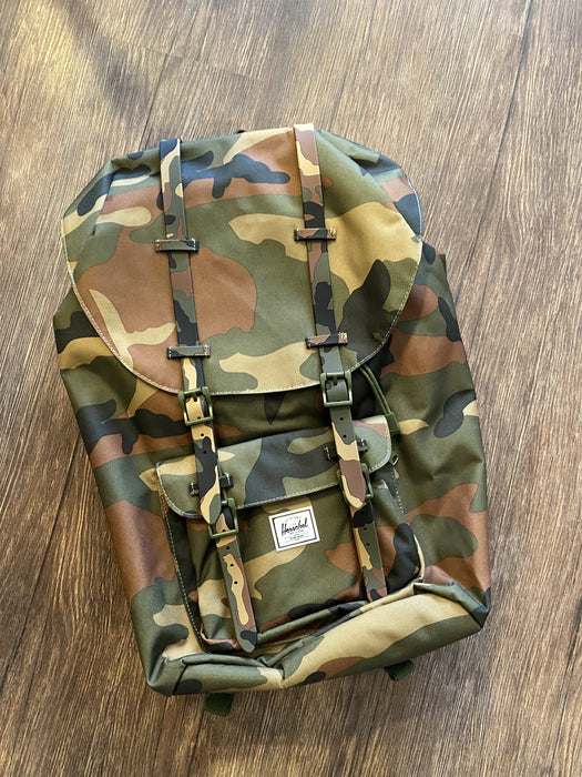 Little American Camo Backpack