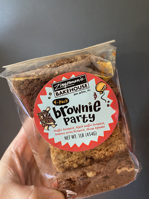 Zingerman's Brownie Party, 4-Pack