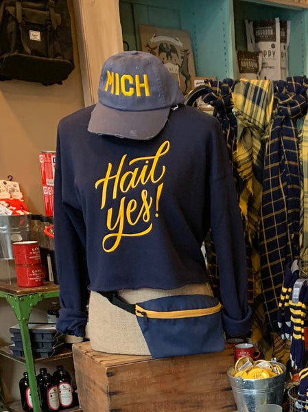 Hail Yes Crop Sweatshirt