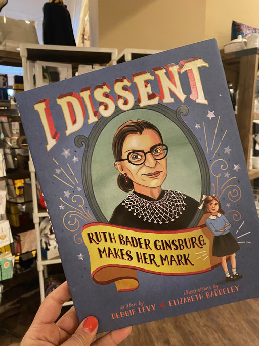 I Dissent: RBG Children's Book