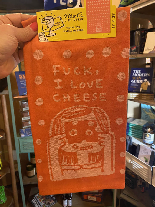 Love Cheese Kitchen Towel