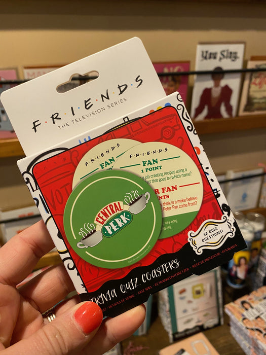 Friends Coaster Trivia Game
