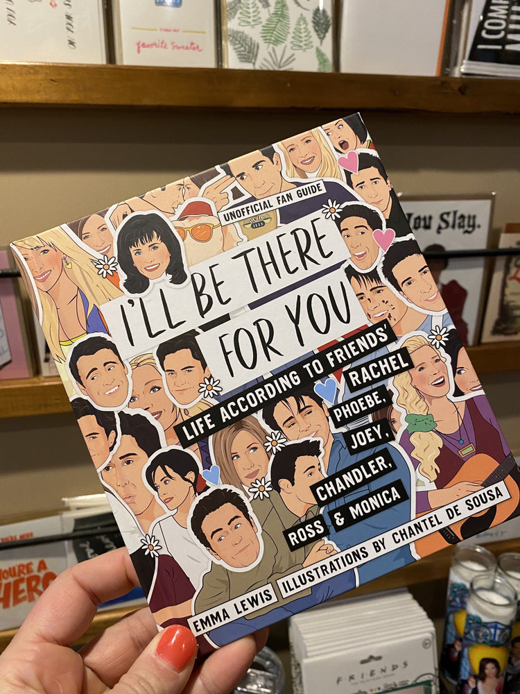 I'll Be There For You Friends Book
