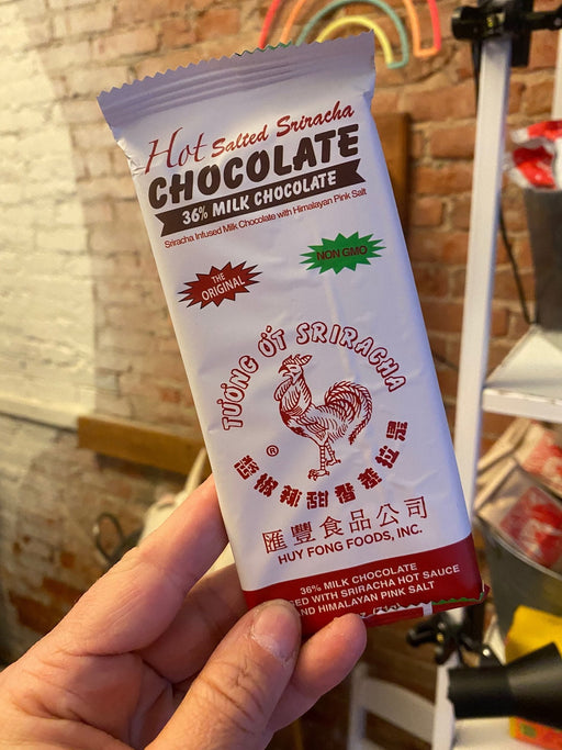 Hot Salted Sriracha Milk Chocolate Bar