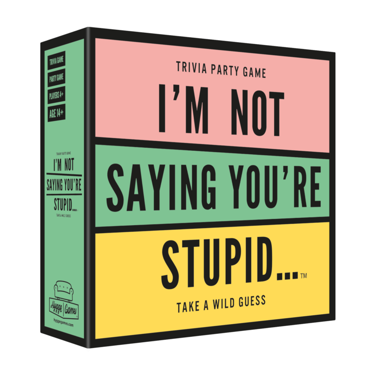 I'm Not Saying You're Stupid Game