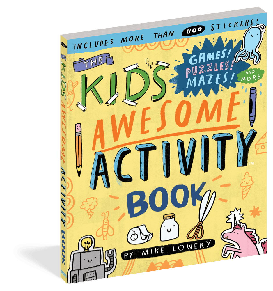Kids Awesome Activity Book