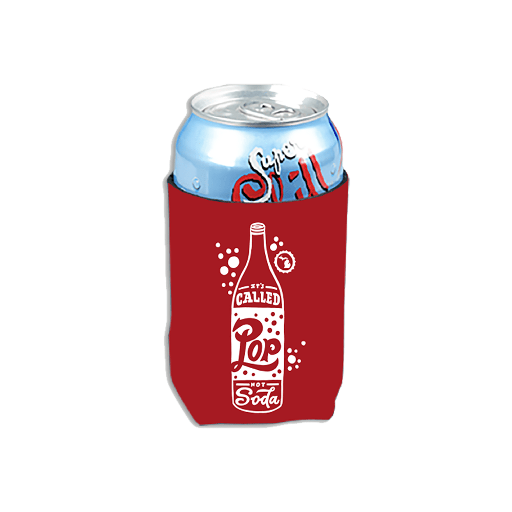 Pop Not Soda Koozie