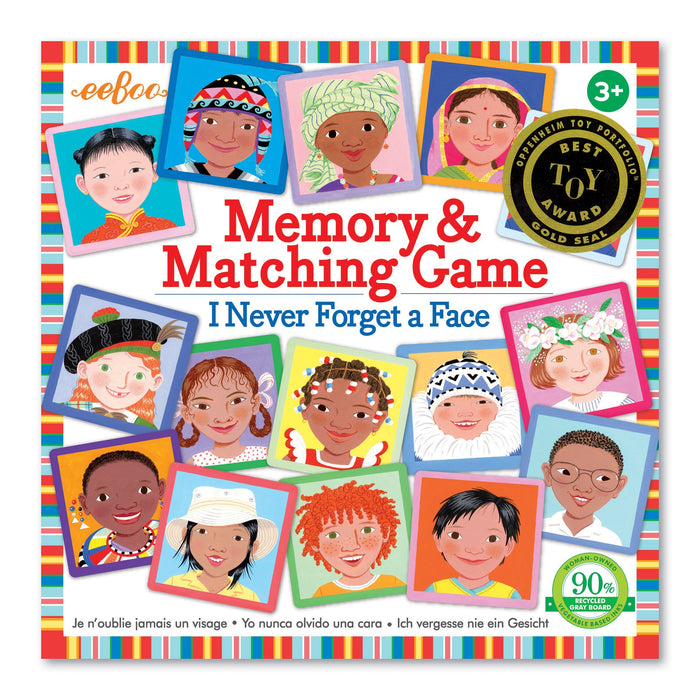 I Never Forget A Face Matching & Memory Game