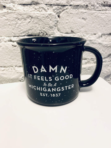 Michigangster Enamel Mug