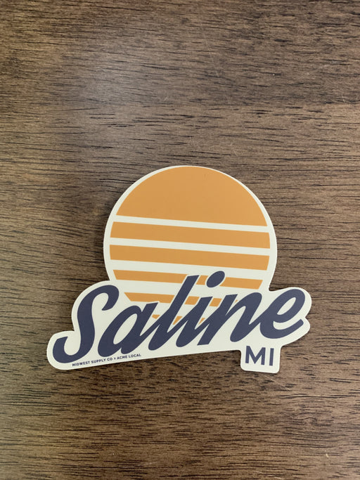 Saline Sunrise Sticker