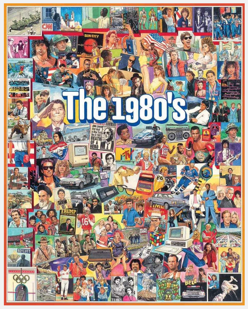 The Eighties 1000 Piece Puzzle