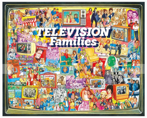 TV Families 1000 Piece Puzzle