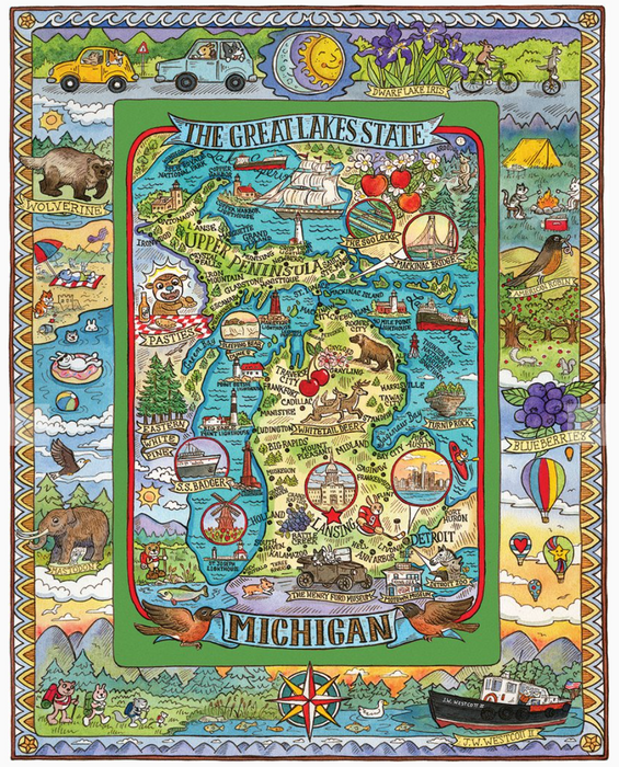 Michigan 1000 Piece Puzzle