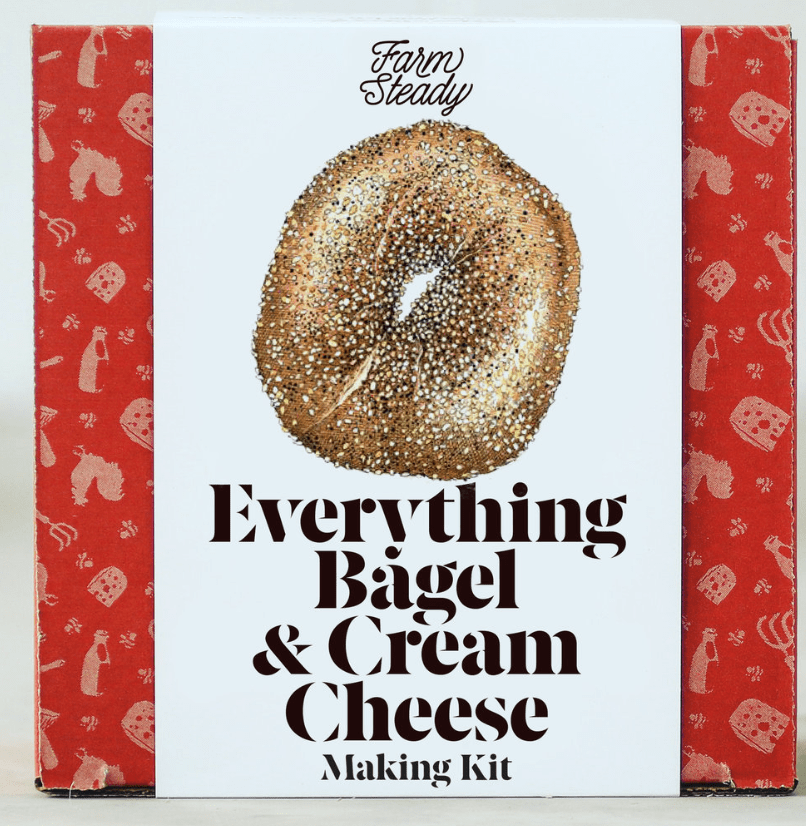 Make Your Own Everything Bagel & Cream Cheese