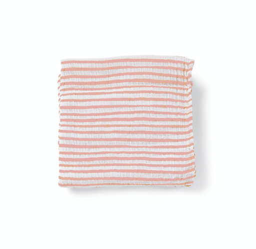 Pink Stripe Count the Ways Cloth