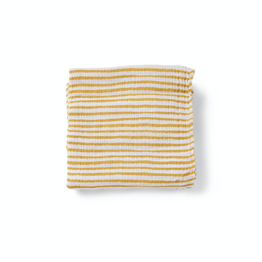Marigold Stripe Count the Ways Cloth
