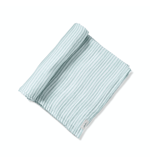 Sea Striped Organic Swaddle