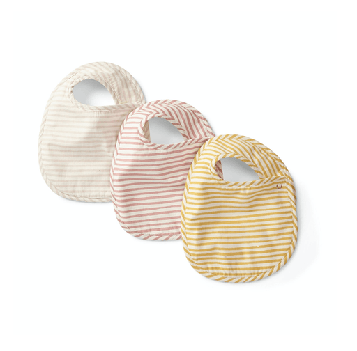 Petal, Marigold & Rose Organic Bibs, Set of 3