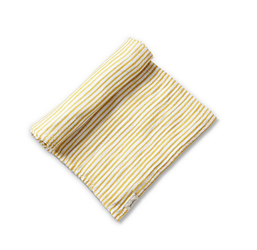Marigold Striped Organic Swaddle