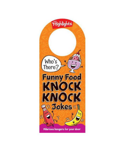 Who's There Funny Food Knock Knock Jokes