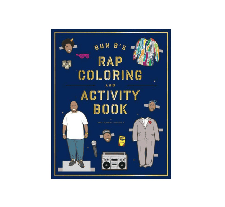 Rapper Coloring and Activity Book