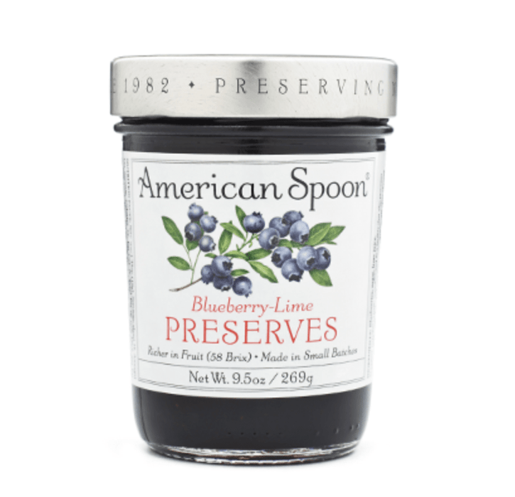 American Spoon Blueberry Lime Preserves