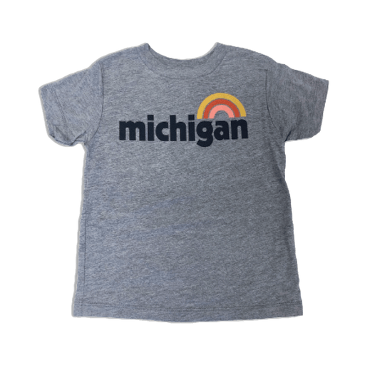 Michigan Rainbow Toddler T-Shirt