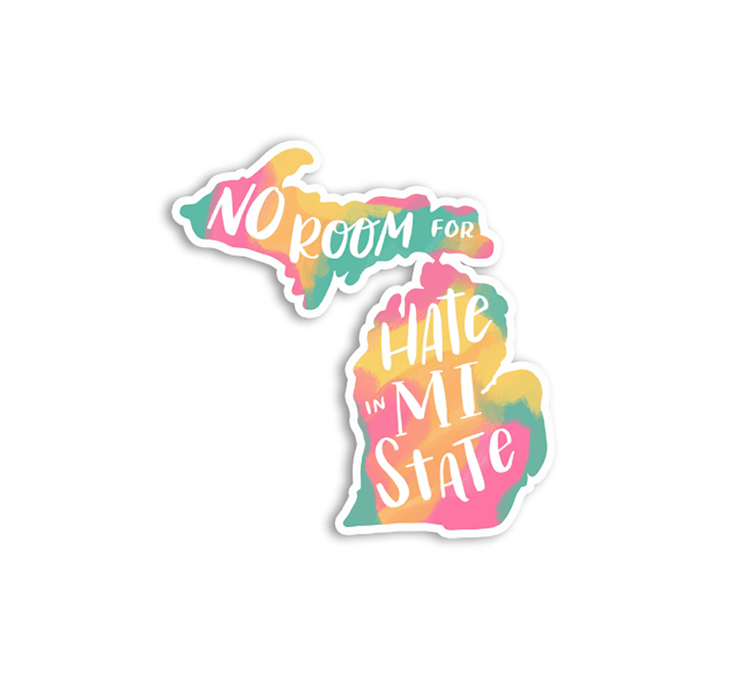 No Room for Hate Sticker