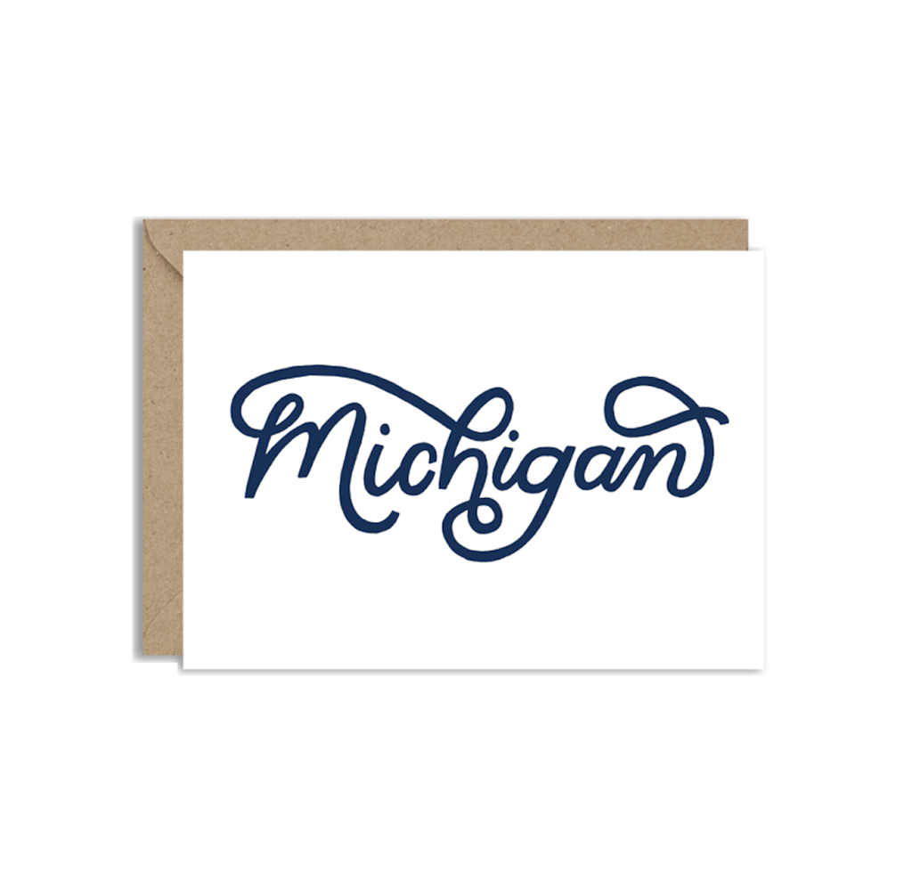 Michigan Script Card