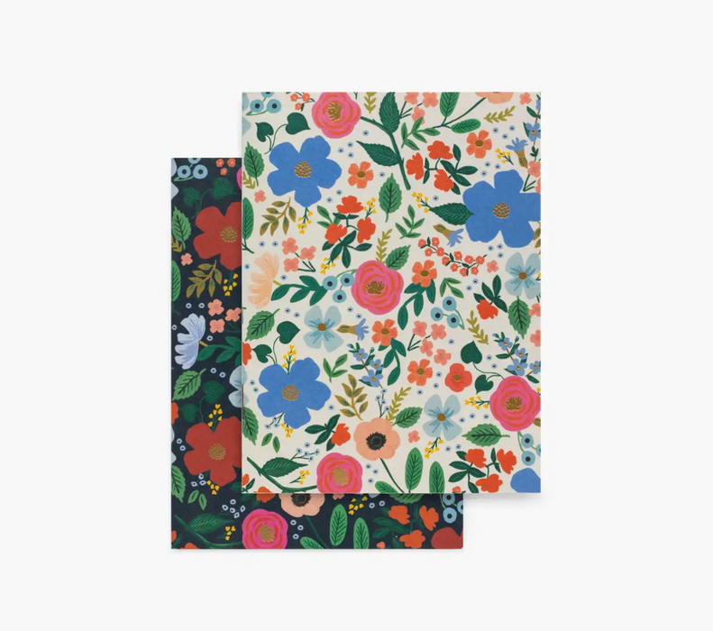 Wild Rose S/2 Pocket Notebook Set