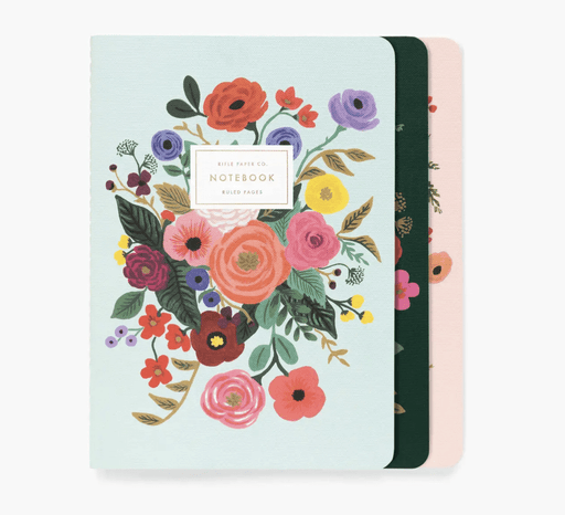Rifle Paper Co. Luisa Floral Notebooks- Set of 3