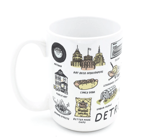 Detroit Things Mug