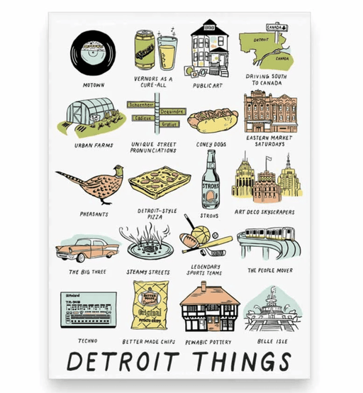 Detroit Things Magnet