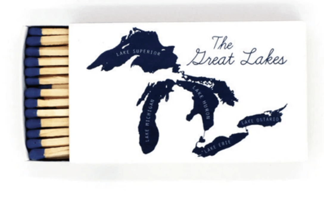 "Great Lakes 4"" Matches"