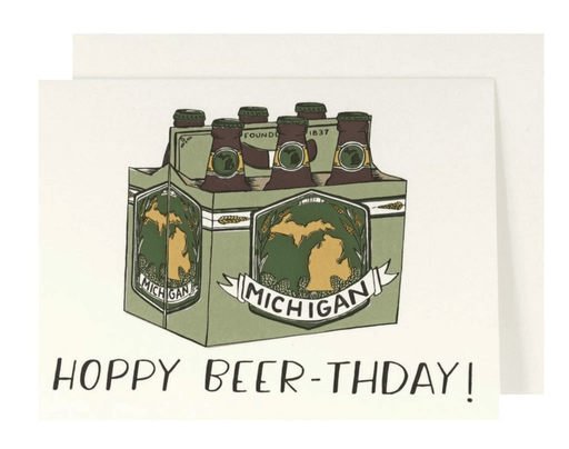 Hoppy Beer-thday Card