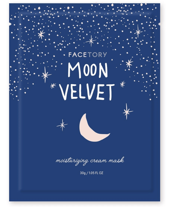 Moon Velvet Face Mask