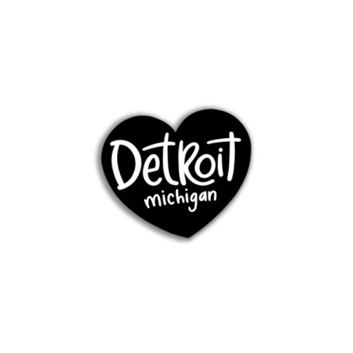 Heart Detroit Sticker
