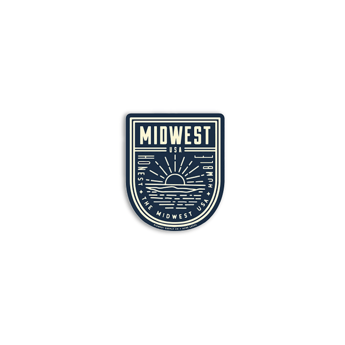 Midwest Humble & Honest Sticker