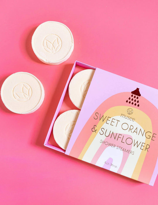 Sweet Orange & Sunflower Shower Steamers