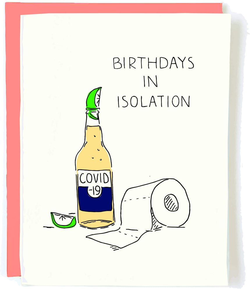 Isolation Birthday Card
