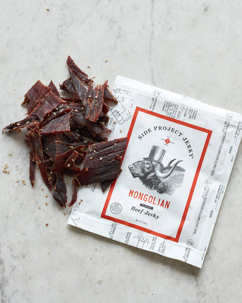 Side Project Jerky - Mongolian Flavor