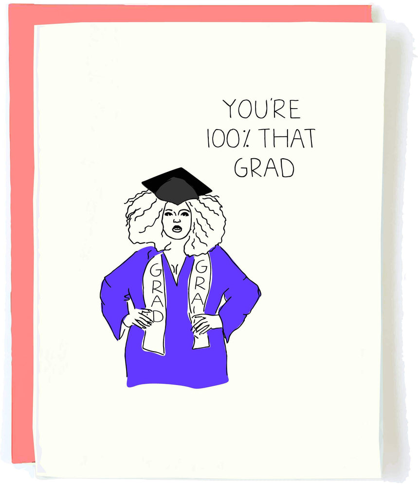 Lizzo Graduation Card